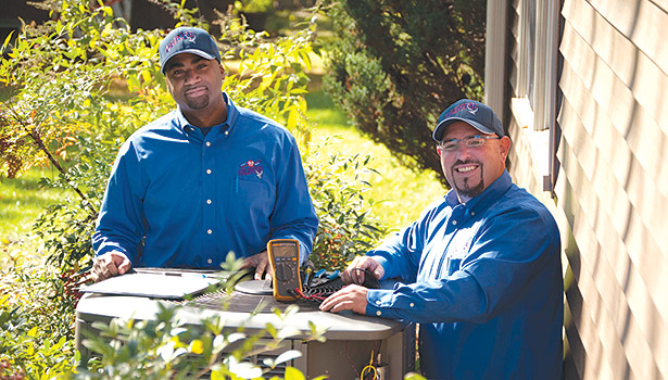 Oliver HVAC offers ample training opportunities to its employees, from technicians to sales and office staff, which helped earn it recognition as a 2014 Best Contractor to Work For Award winner. (Photo courtesy of Shanna Reimer/Oliver HVAC)