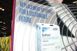 DuPont was drawing attention to contractors using R-438A (ISCEON® MO99�) as a replacement refrigerant.