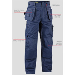 Blaklader USA: Fire-resistant Work Pants