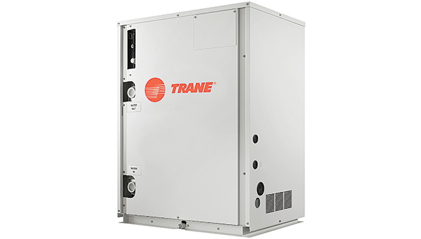 Traneâ??s new Water-Source VRF system uses adjacent water or geothermal sources to draw upon stable water temperatures to dissipate heat during peak cooling periods and act as a heat source when in heating mode.