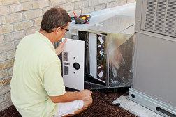 ComfortMaster Mechanical suggested the Healthy Home Trio 2000 to filter and purify the air while removing odors and VOCs. (Photo courtesy of Field Controls)
