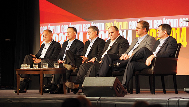 The CEO/Contractor Forum will return to ACCA 2015, allowing contractors to directly ask the CEOs of major manufacturing companies tough questions.