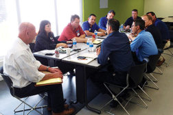 Local California Nexstar contractors meet on a regular basis to share ideas and hold each other accountable for their business plans.