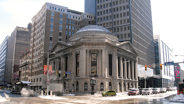 The Cleveland Trust Rotunda in downtown Cleveland.