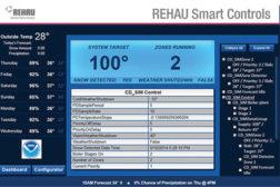 Rehau: Weather-sensing Control Module
