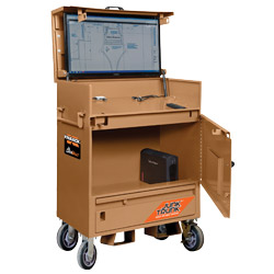 KNAACK, a Werner Co. brand: Job Site Kiosk