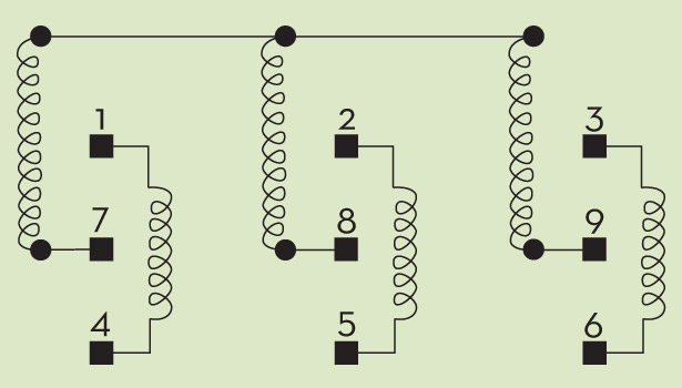 the professor dealing dual voltage devices 2015 03 30 achrnews how the motor windings are configured inside a nine lead dual