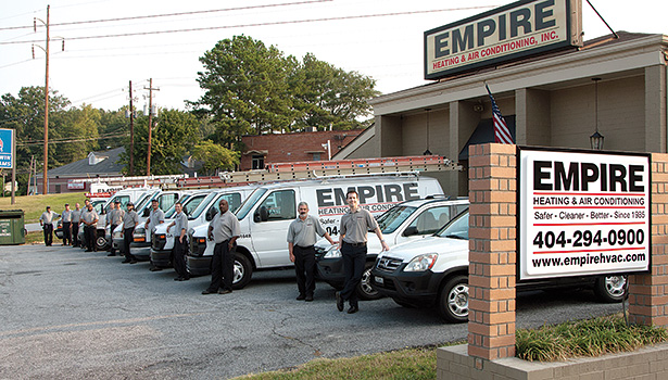 Empire Heating & Air Conditioning, Decatur, Georgia upholds its ethical standards by maintaining a zero-tolerance policy for dishonesty of any kind.