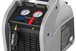 The Inficon Vortex Dual refrigerant recovery machine.