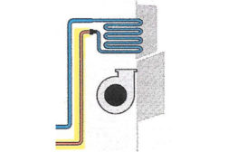 air conditioning system piping configuration