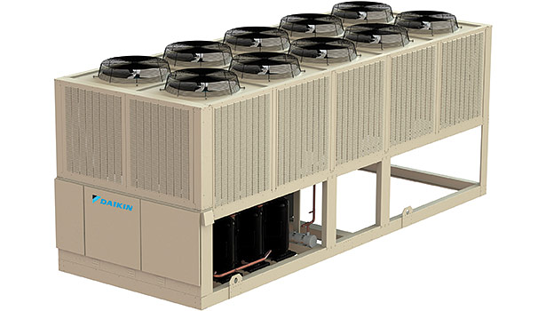 Daikin Appliedâ??s recently launched Trailblazer air-cooled scroll chillers, available in 30- to 180-ton sizes, have been designed to meet the new 2013 version of ASHRAE Standard 90.1.