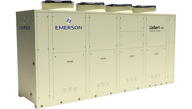 The high-efficiency Liebert HPC-S Freecooling Chiller enables small- to medium-sized data centers to operate with maximized availability and efficiency, which can help lower the facilityâ??s power usage.