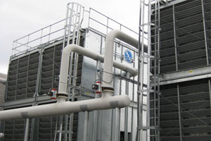 HVAC contractors and others that provide services on or near cooling towers should take reasonable measures to protect themselves from Legionnaires' disease.