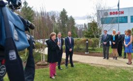 Sen. Shaheen Visits Bosch Facility
