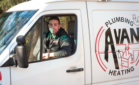 IN CHARGE: Anthony Tosco, owner and operator of Collegeville, Pennsylvania-based Avanti Plumbing and Heating.