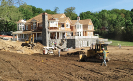 MANSION MECHANICALS: A builder in Tarrytown, New York, recently asked Geothermal Energy Options Lagrangeville, New York, to design a geothermal system for this new 15,000-square-foot home.