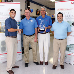 Mitsubishi Electric Honors Johnstone Supply â?? The Ware Group Florida