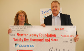 Goodman Donates $25,000 to Nexstar