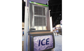 HIGH CAPACITY: Scotsman�¢??s Prodigy Plus ice machine offers high capacity in a small footprint.