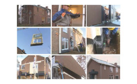 An example of a net zero energy retrofit carried out on one of the homes in the Netherlands.
