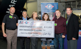 JB Industries Donates $10,000 to Operation Homefront