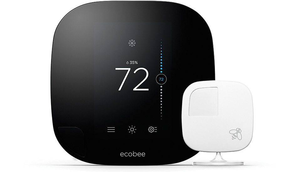 Ecobee Smart Thermostat Shines In Residential Controls