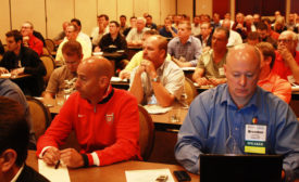 Strong managers improve themselves through such things as participating in industry groups and attending conferences.