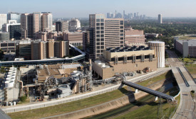 Forty-five buildings on the Texas Medical Center campus are served with chilled water and steam by Thermal Energy Corp.'s (TECO's) district energy system paired with combined heat and power.