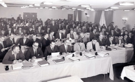 CENTENNIALS: A classroom of an I=B=R School in Boston, circa 1960. In the front at far right is I=B=R instructor Arthur Wales.