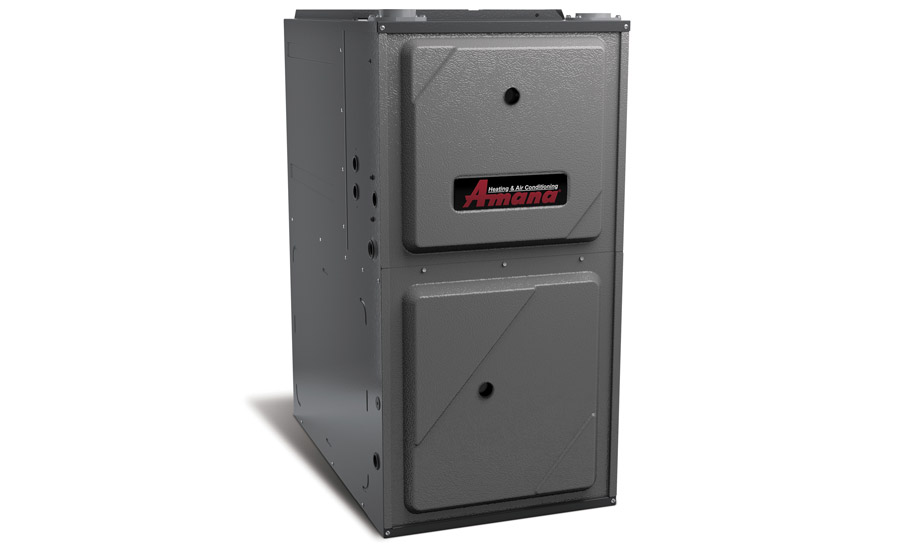 Amana: AMVM97 modulating, variable-speed gas furnace