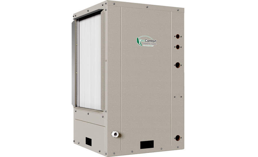 GeoComfort: GVS/GVT Element Series compact vertical packaged geothermal heat pump