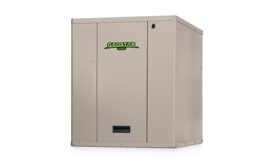 GeoStar: Aston hydronic heat pump with OptiHeat