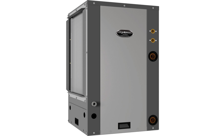 Hydron Module: HVS/HVT Origin Series compact, vertical, water-to-air, packaged, geothermal heat pump