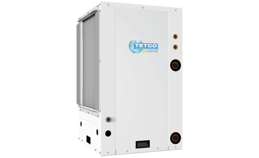 TETCO: TVS/TVT ION Series compact, vertical, water-to-air, packaged, geothermal heat pump