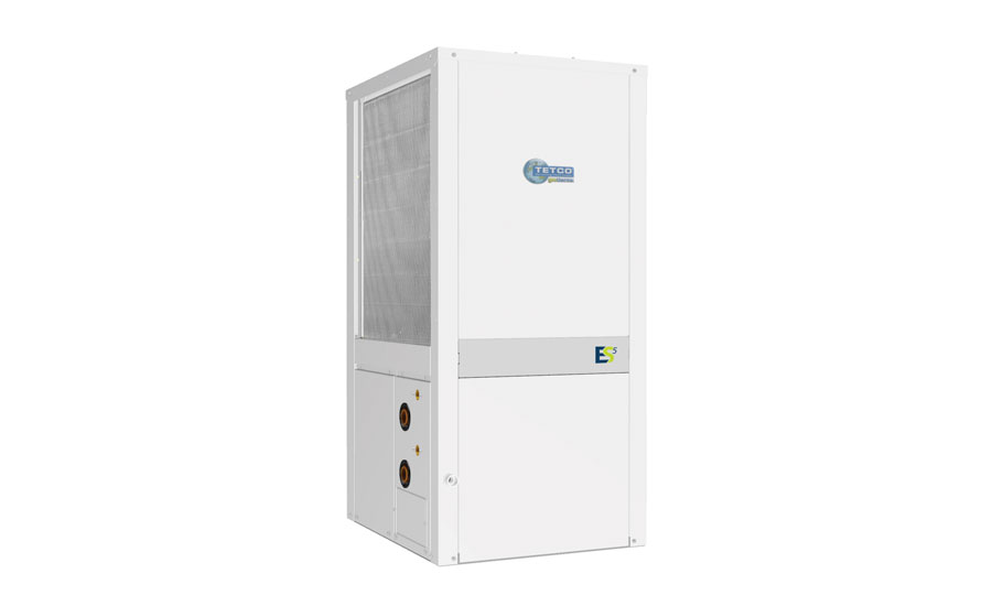 TETCO: TYT ES5 Series vertical, water-to-air, packaged, geothermal heat pump
