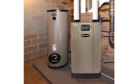 Weil-McLain floor mount boiler