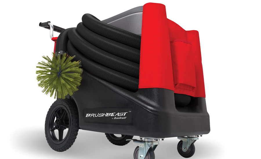 the new brushbeast air duct cleaner from rotobrush features a 90 percent increase in vacuum - Duct Cleaning Jobs
