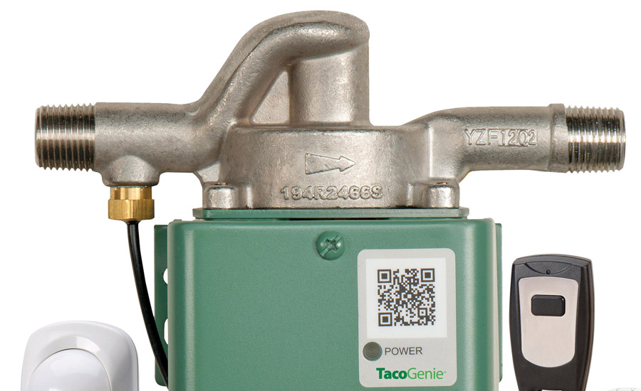 I DREAM OF GENIE: Taco's TacoGenie is a domestic hot water recirculation solution that delivers hot water to faucets and taps on command, saving water, energy, and money.