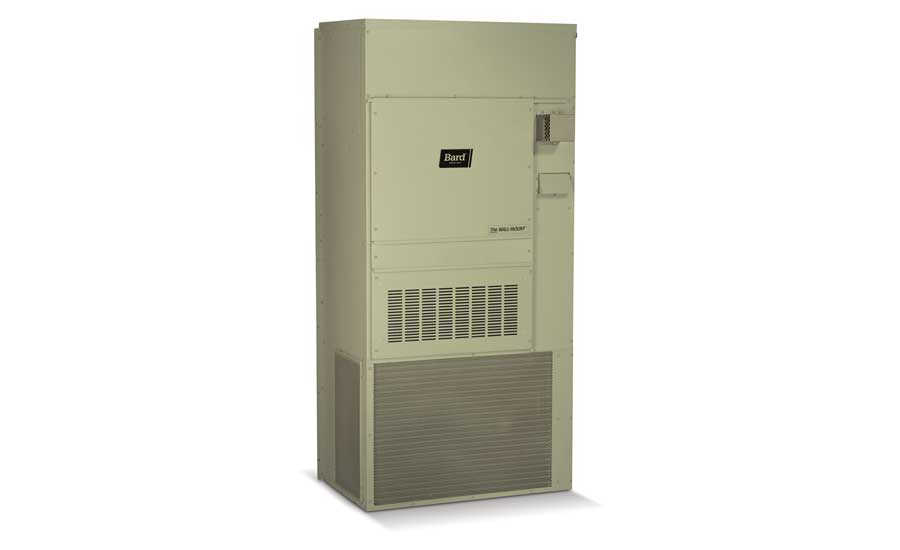 Bard  Model: WGS Series step-capacity gas/electric wall-mount unit
