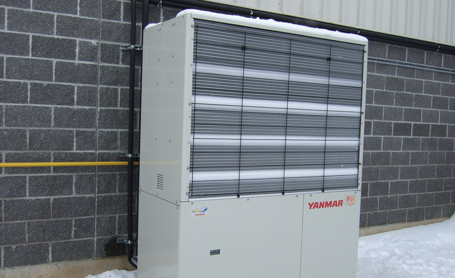 GAS-DRIVEN: A new entry into the commercial heat pump market is Yanmar Energy Systems' gas-driven VRF system, which utilizes natural gas as the driver for the compressor instead of electricity.
