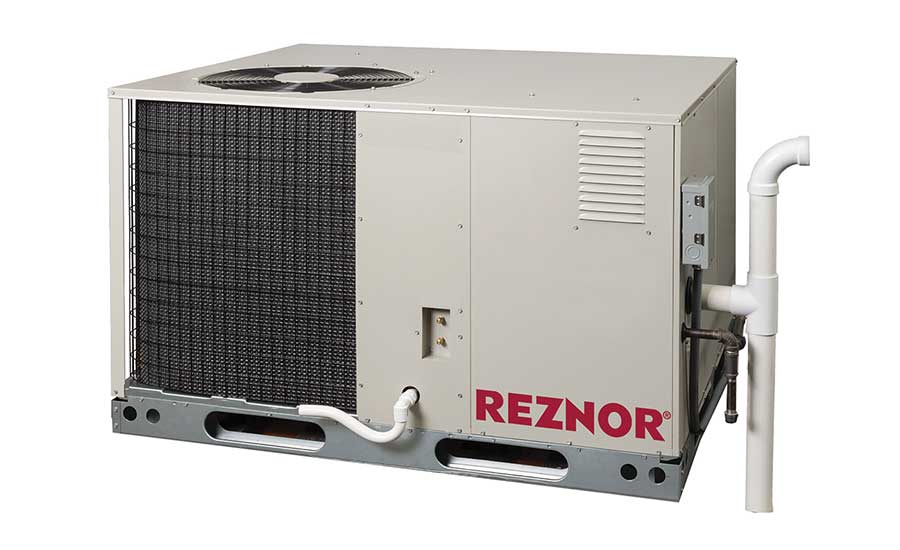 Reznor  Model: R8HE packaged gas/electric unit