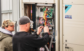 Variable refrigerant flow (VRF) equipment is becoming a popular choice among commercial HVAC contractors as they seek to increase sales and differentiate themselves from the competition.