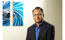 Rajan Rajendran, vice president - Systems Innovation Center and Sustainability, Emerson Climate Technologies.