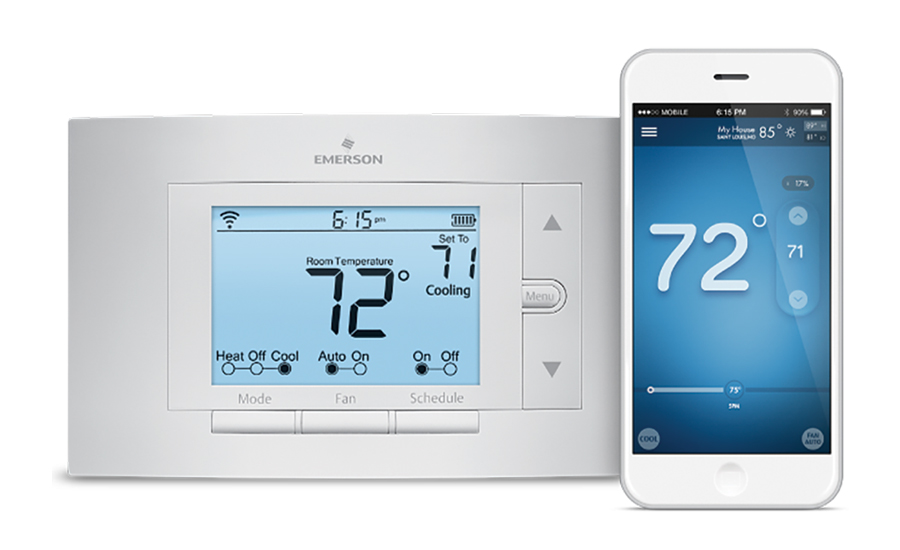 "Emerson Climate Technologies Inc.  Product: Sensiâ""¢ Wi-Fi Programmable Thermostat"