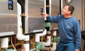Jim Godbout, owner, Jim Godbout Plumbing, heating, and Air Conditioning in Biddeford, Maine, started a co-op program in conjunction with a local Rotary Club to match students to members of the local business community.