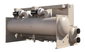 MAGNITUDE CHILLER: The 1,500-ton Magnitude chiller from Daikin Applied.