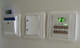 Hotel owners and operators may reduce their HVAC-related energy costs by installing individual occupancy controls.