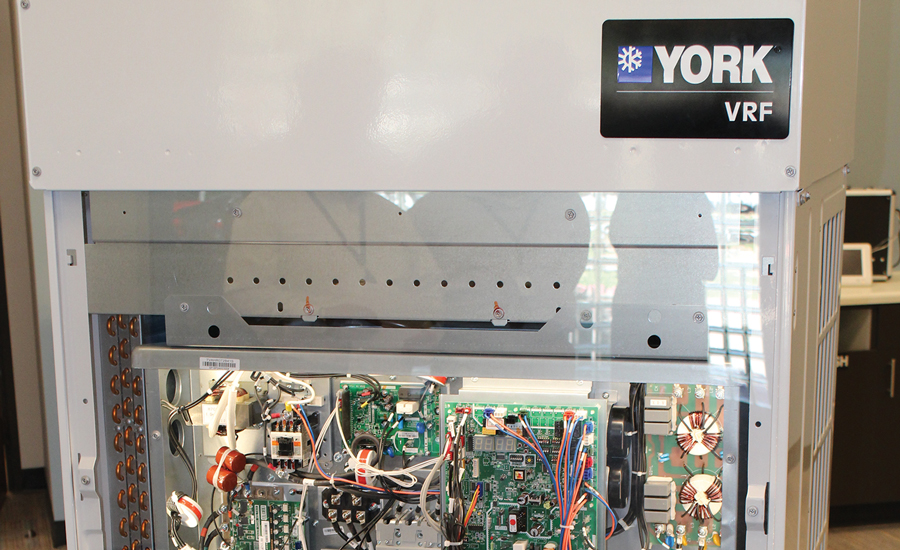 Johnson Controls unveiled its VRF line under the York brand in January at the 2015 AHR Expo in Chicago.