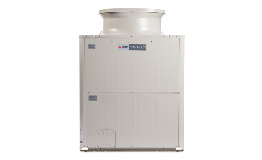 Mitsubishi Electric's CITY MULTI® L-Generation Air Source system has a 30 percent smaller footprint than previous models, making the system ideal for tight mechanical spaces.