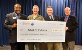 WaterFurnace Donates $37,000 to USO of Indiana